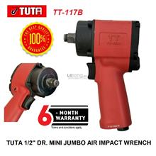 "Tuta 1/2"" Dr. (520Nm) Jumbo Hammer Mini Air Impact Wrench"