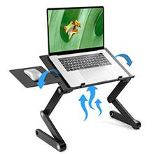 [USAmall] LORYERGO Adjustable Laptop Stand - Laptop Table Stand with 2 CPU Coo