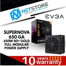 EVGA SUPERNOVA 650 GA 80+ GOLD 650W FULL MODULAR PSU - 220-GA-0650-X3