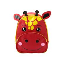 Children Backpack Cartoon Animal Calf Print Nylon Zipper Adjustable Strap Boys