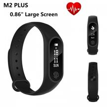 "M2 Heart Rate Monitor 0.86 "" Large OLED Touch Screen Bluetooth Smartband"
