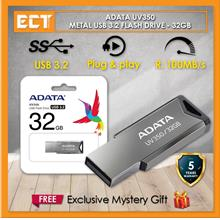 ADATA UV350 Metal USB 3.2 Gen 1 Flash Drive Pendrive Thumb Drive