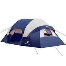 From USA HIKERGARDEN Camping Tent - 10 Person Tent for Camping Waterproof, Win
