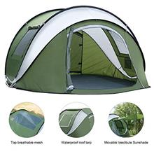 From USA Weanas Pop Up Tents 4 Person with Top Mesh, Instant Automatic 2-4 Per
