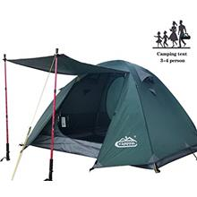 From USA Camppal 3 4 Person Tent for Camping Hiking Mountain Hunting Backpacki