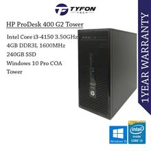 HP ProDesk 400 G2 MT i3 4GB RAM 240GB SSD Desktop PC Computer