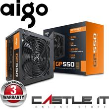 Aigo GP550 550W Intel AMD ATX 12V Switch Power Supply 550Watt 80PLUS B