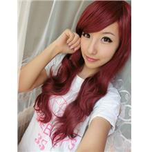 Cosplay wine red wig cs3/ready stock/rambut palsu/promotion