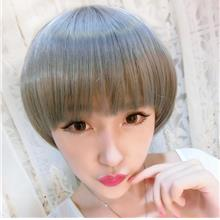 Cosplay short wig cs2/ready stock/rambut palsu/ grey