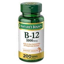 US. Nature's Bounty Vitamin B-12, 1000 mcg - Vitamin Supplement