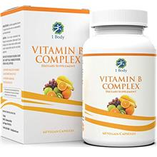US. Vitamin B Complex – 5-MTHF Folate with B1, B2, B5, B6, Methyl B12, Niaci