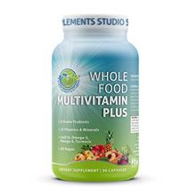 US. Whole Food Multivitamin Plus - Vegan - Daily Multivitamin for Men and Wome