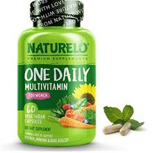 US. NATURELO One Daily Multivitamin for Women - Best for Hair, Skin, Nails - N