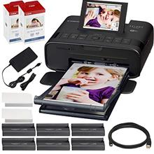 From USA Canon SELPHY CP1300 Compact Photo Printer (Black) with WiFi w/ 2X Can