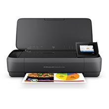 From USA HP OfficeJet 250 All-in-One Portable Printer with Wireless  & Mobile