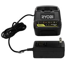 From USA Ryobi P118B 18V Battery Charger