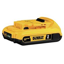From USA DEWALT 20V MAX Battery, Compact 2.0Ah (DCB203)