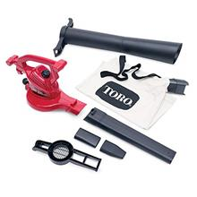 From USA Toro 51619 Ultra Electric Blower Vac, 250 mph, Red