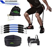 From USA FIGROL Vertical Bounce Trainer Leg Resistance Bands Set-Leg Strength