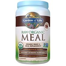 From USA Garden of Life Meal Replacement Chocolate Powder, 28 Servings, Organi