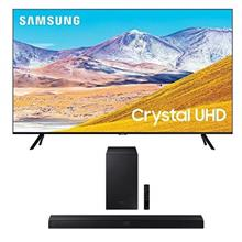 From USA Samsung 55-inch Class Crystal 4K UHD HDR Smart TV (Alexa Built-in) wi