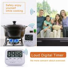 TA732 Digital Kitchen Timer Magnetic Countdown Up Cooking Timer Loud Alarm Lar