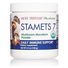 US. Host Defense, Stamets 7 Mushroom Powder, Daily Immune Support, Certified O