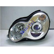 EAGLE EYES BENZ W203 '00-03 CHROME Projector Head Lamp [HL-007-BENZ-1]