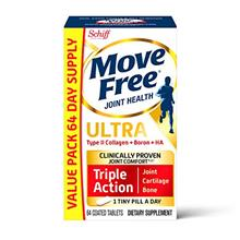 [USAmall] Type II Collagen, Boron  & HA Ultra Triple Action Tablets, Move Free