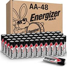[USAmall] Energizer AA Batteries (48 Count), Double A Max Alkaline Battery