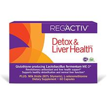 [USAmall] REG'ACTIV Detox  & Liver Health, 60 Capsules, with The Glutathione-p