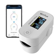[USAmall] Wellue Pulse Oximeter Fingertip Blood Oxygen Saturation Monitor with