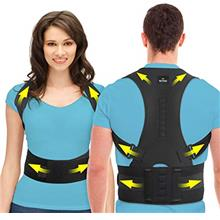 [USAmall] SOMAZ Adjustable Posture Corrector for Men &Women &Kids, Slouching C