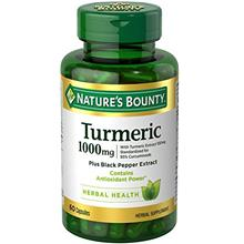US. Nature's Bounty Turmeric Pills and Herbal Health Supplement, Supports Join