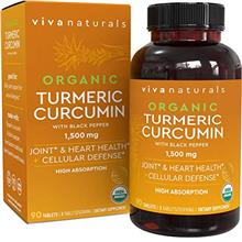 US. Organic Turmeric Curcumin Supplements with Black Pepper for Better Absorpt