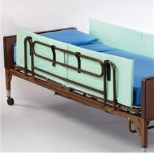 [USAmall] Rolyan Side Rails, Foam Padded Bed Walls to Protect from Falling, Fo