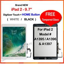 Qi APPLE iPad 1/2/3/4 Touch Screen Digitizer Free Temper Glass
