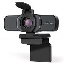 US. Amcrest 1080P Webcam with Microphone  & Privacy Cover, Web Cam USB Camera,