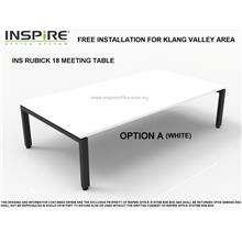 INS RUBICK 18 MEETING | CONFERENCE TABLE (WHITE)