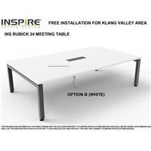 INS RUBICK 24 MEETING | CONFERENCE TABLE (WHITE)