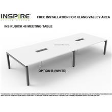 INS RUBICK 48 MEETING | CONFERENCE TABLE (WHITE)