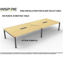 INS RUBICK 48 MEETING | CONFERENCE TABLE (MAPLE)