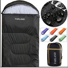 FARLAND Sleeping Bags 20℉ for Adults Teens Kids with Compression Sack Portab