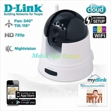 D-Link DCS-5222L HD Day & Night Pan Tilt Infrared Wireless IP Camera