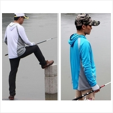 Professional Fishing Clothes Hoddie Sun protection breathable fastdry