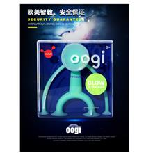 Moluk Oogi Glow Dark Suction Cup Baby Toddler Car Meal Time Table Toy