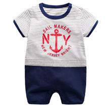 Short Sleeve Short Pant Newborn Baby Toddler Infant Jumpsuit+Free Gift