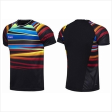 2017 Badminton Jersey Shirt Men and Women size (design7478)