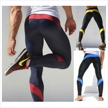 AQUX Tight Fit Men Long Pants for GYM Sports Exercise seluar panjang
