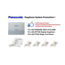 Panasonic KX-TES824ML Keyphone System/ PABX/ PBX (Pkg 3)